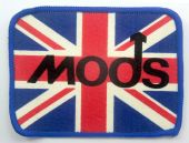 Mods - 'Union Jack' Printed Patch